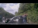 Авто регистратор - Водитель внедорожнике на дороге Грушовка Судак в Крыму устроил масштабное ДТП
