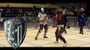 Knights fight with long sword- Jakub Buzak vs Piotr Krigier [23 Jaworzno 2015 ]