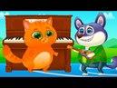 КОТЕНОК БУБУ и ПЕСИК ДУДУ 83 Мультик игра про котика и щенка Челлендж кота малыша пурумчата