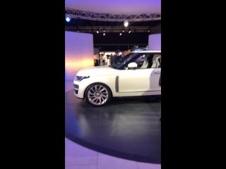 Закрытая презентация Range Rover SV Coupe