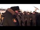 вице адмирал Игорь Мухаметшин - ВТОРОЙ ЗОЛОТОВ устроил выступление перед моряками.