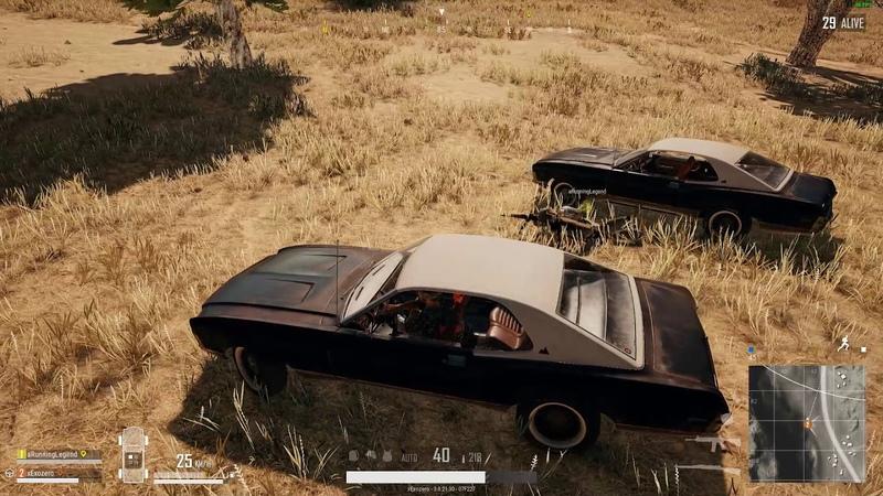 PLAYERUNKNOWN'S BATTLEGROUNDS - Mustang