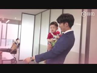 Папа и малыш Любовь с уведомлением \ Мой босс хочет жениться на мне (2019)