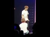 taehyung sat between jungkooks legs and turned around to face him and jungkook offered his