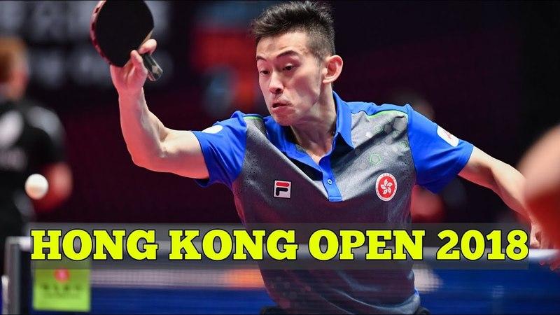 WONG Chun Ting vs PERSSON Jon | MS R16 | Hong Kong Open 2018