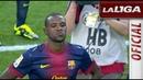 Emotivo homenaje del FC Barcelona a Eric Abidal