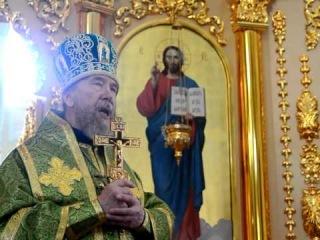 Архиерейское служение в день празднования Рождества Иоанна Предтечи
