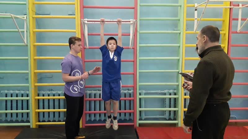 Кочанов Сергей 1 место в категории мальчики 5-6 класс