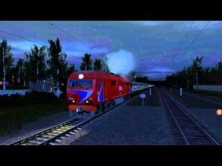 Trainz 2012 - Солнечная - Лихачеве