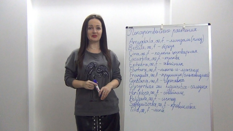 Латинский для медиков. Медицинская лексика. Лекарственные растения. ч.2