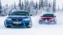 [Top Gear] Drag race! BMW M5 vs Merc-AMG E63 S... on ice