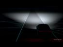 Matrix LED headlight with dynamic laser spot