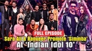 Ranveer Singh Sara Ali Khan Promote Simmba on Indian Idol 10 Rohit Shetty