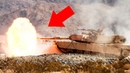 Powerful US M1A1 A2 Abrams in Action Live Fire Range