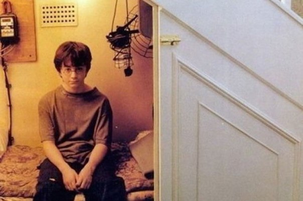 Что если Гарри был сиротой с шизофренией, который никогда не покидал кладовку и...