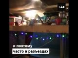Сергей Дегтярь превратил старый автобус в дом на колесах. Даже в ГИБДД завидуют! -