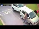 Moment carjackers drag tourist from car by her hair in Johannesburg