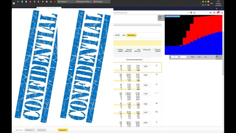Обучающее видео по скрипту Simple Bidder — для управления ставками в интерфейсе Яндекс.Директ