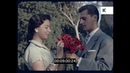 Romantic Date Man with Flowers 1960s South America HD