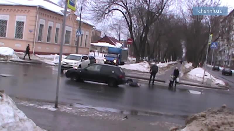 ДТП с девушкой-пешеходом на Ленина