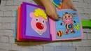 Книга с ЖирафомDeveloping book Quiet book activity book for children
