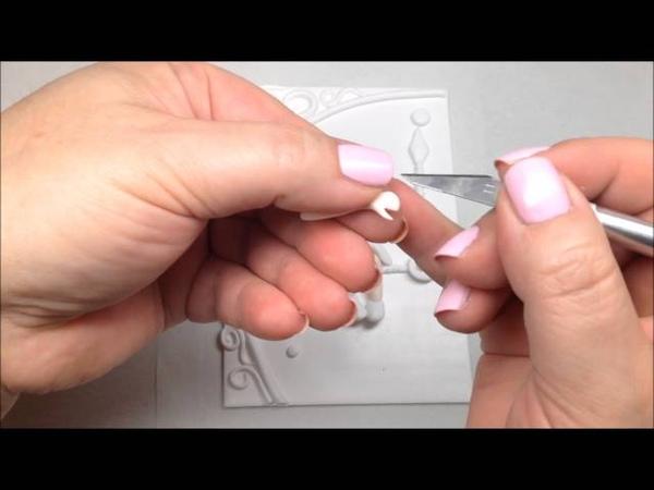 Polymer clay journal cover/ Cobertura de diário em Fimo