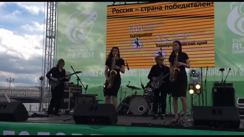 Sugar ( rock version) - Кавер группа SPb Ladies Band