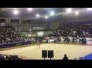 Дина Аверина булавы — Клубный чемпионат Италии 2017 /Прато, Италия