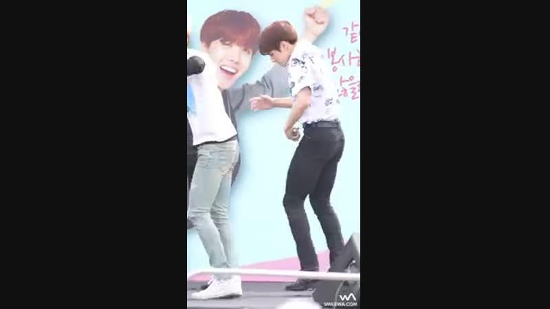 방탄소년단(BTS) 정국 - 불타오르네 (FIRE) @스마트 가족사랑의 날 캠페인 직캠/Fancam by -wA-