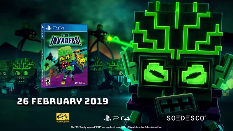 8-Bit Invaders! - Gameplay Trailer PS4