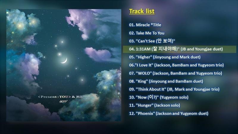 [전곡 듣기 / FULL ALBUM] GOT7 (갓세븐) – 'Present : YOU' ME Edition