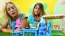 Yemek yapma. Oyuncak Kafe de Troller. PlayDoh oyunları