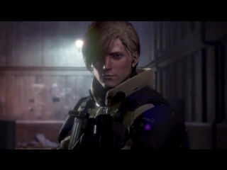 Left Alive First Gameplay Part  3 - Dialogue Options (Square Enix - PS4-PC)