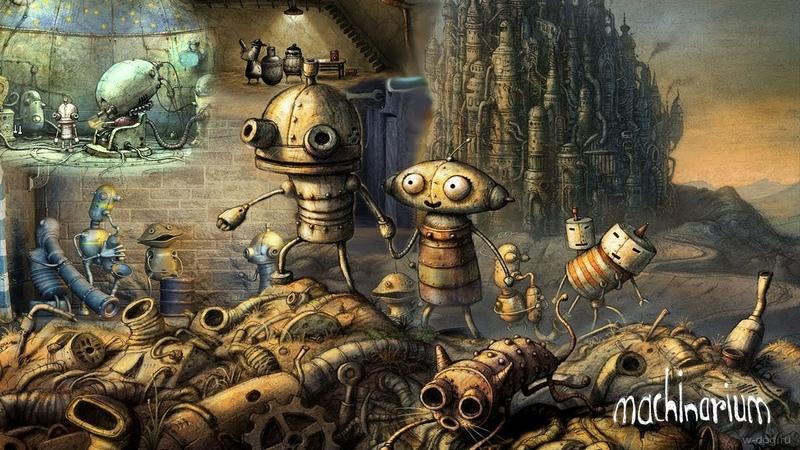 📱 Mobile gaming 📱- Машинариум 🤖. Первое знакомство с миром роботов.