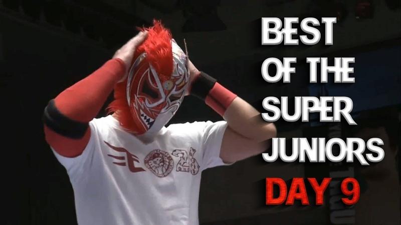 NJPW - Best of the Super Juniors 26 (2019) Day 9 - Highlights