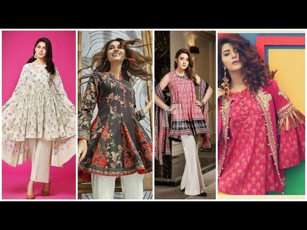 Short Casual Frocks Style Kurtis Designs For Girls