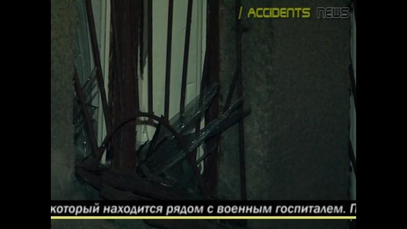 Харьков 20.ноября, .2014 В Харькове произошел взрыв на трансформаторной подстанции у военного госпиталя