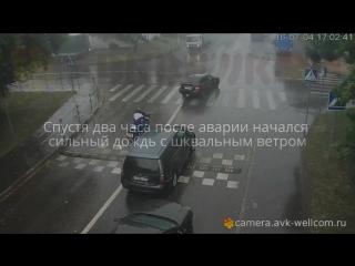 ДТП в Люберцах с неожиданным продолжением