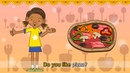 Do you like pizza I like pizza English song for Kids Let's sing Listen and Repeat