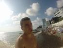 Железный Дровосек в Сочи: обеденный перерыв на море))