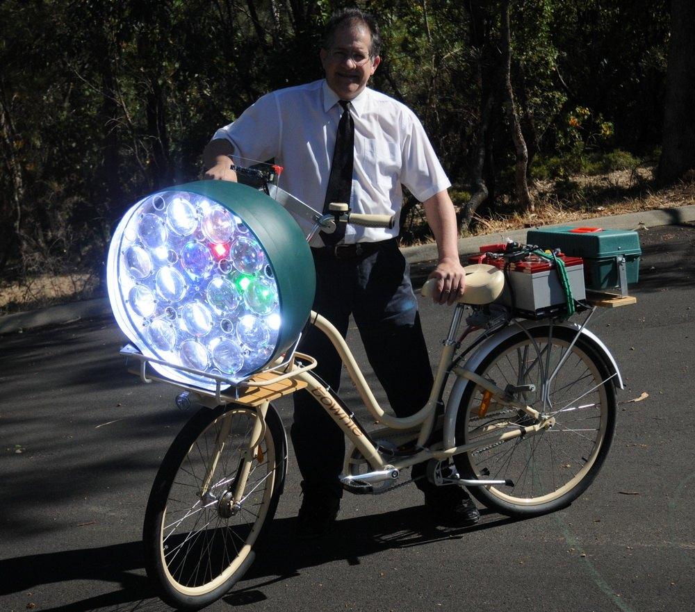 Свет своими руками для велосипеда