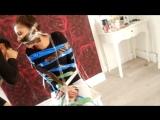 DUCT TAPE CHALLENGE PRANK BACKFIRES!! (SHE GOT US BACK) ♡Iram & Harisa♡