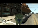 GTA 4 Халк in GTA! - смешные моменты мода с Халком