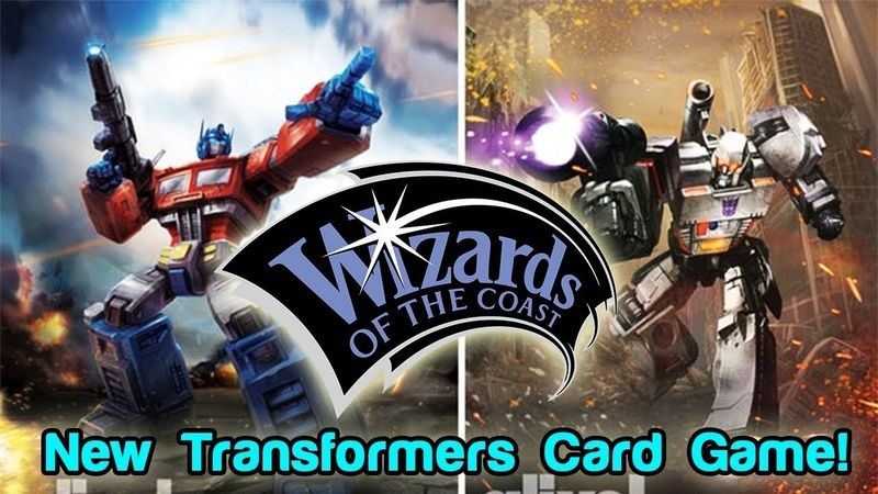 Transformers CCG Coming From Wizards of the Coast | Roll For Crit