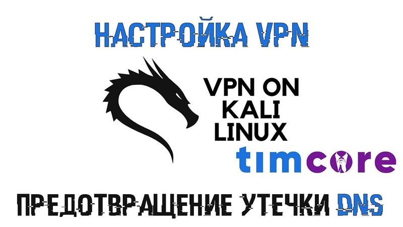 Настройка VPN на Kali LInux | Предотвращение утечки DNS | Timcore