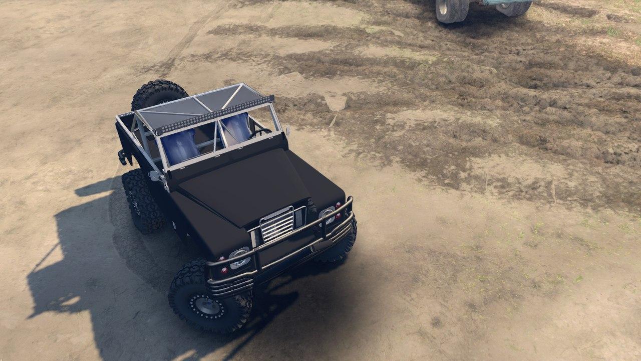 Land Rover defender 1.0 для Spintires - Скриншот 1