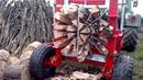 Как в Германии дрова на зиму пилят, колят, заготавливают