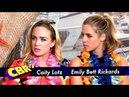 Caity Lotz Emily Bett Rickards Talk Arrow Relationships and Humor