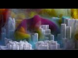 Растворение цветных чернил в аквариуме  (6 sec)