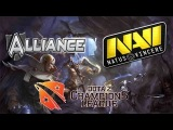 Alliance vs NaVi #1 bo5 (28.03.14) D2CL Season II RUS